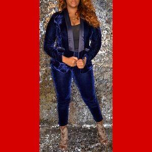 Velvet Suit Two- Piece